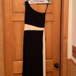 Gently used black gown